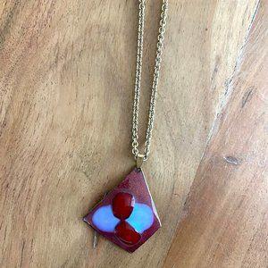 Jewelry - Vintage Art Glass Necklace